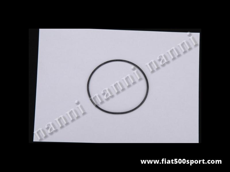Art. 0452D - Anello Fiat 500 Fiat 126 coperchio filtro olio centrifugo. - Anello Fiat 500 Fiat 126 in gomma speciale per il coperchio del filtro olio centrifugo.