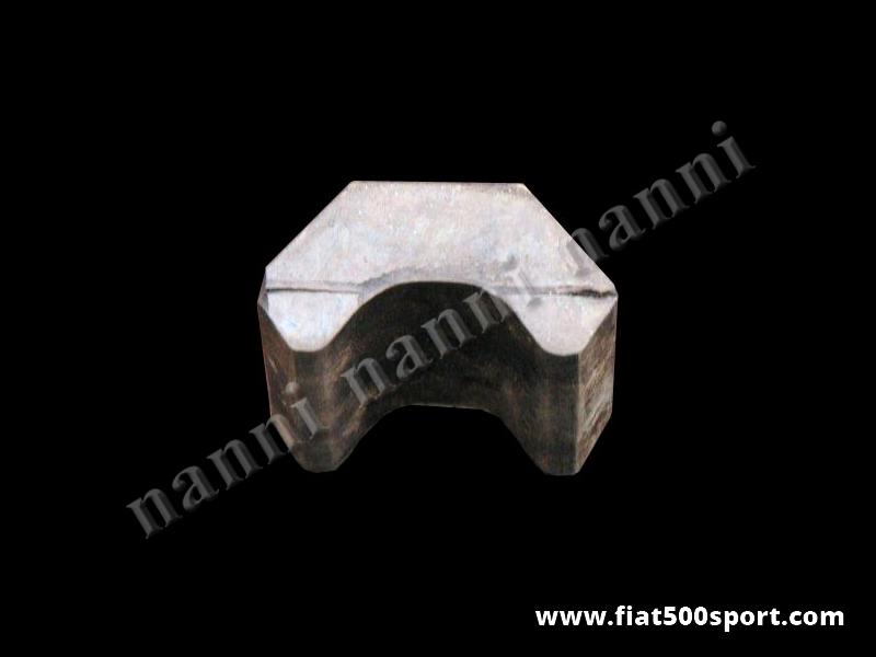 Art. 0460B - Fiat 500  Fiat 126 leaf  spring buffer. - Fiat 500 Fiat 126 leaf spring buffer.