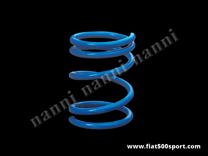 Art. 0465 - Lowered rear coil spring h. 19 cm. for Fiat 500/126. - Lowered rear coil spring h. 19 cm. for Fiat 500/126.