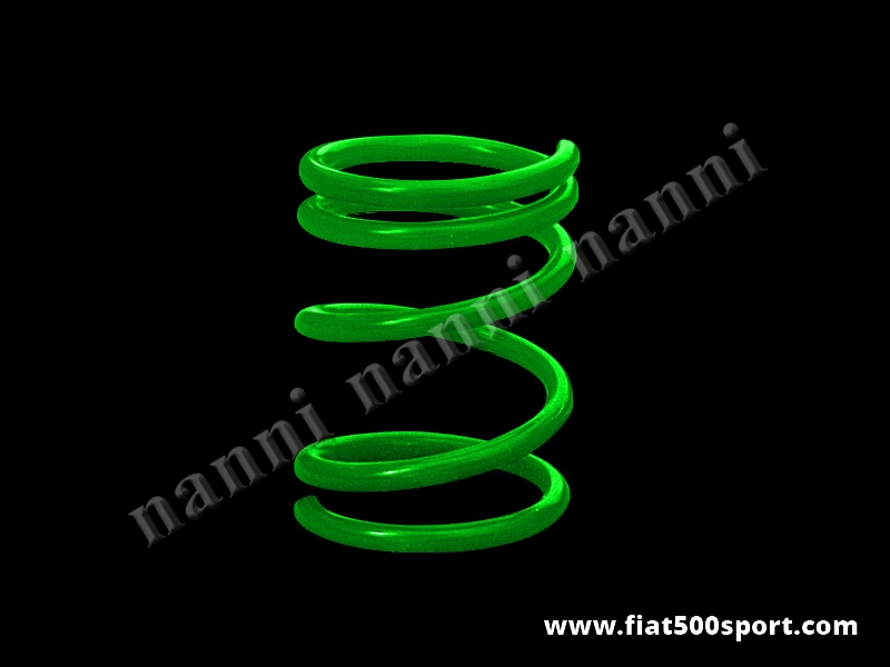 Art. 0466 - Fiat 500 Fiat 126 lowered reinforced rear coil spring h. 19 cm. - Fiat 500 Fiat 126 lowered reinforced rear coil spring h. 19 cm.