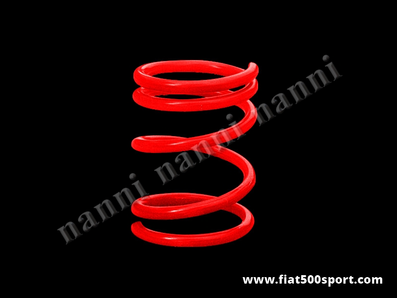 Art. 0467 - Racing lowered rear coil spring h. 17 cm. for Fiat 500/126. - Racing lowered rear coil spring h. 17 cm. for Fiat 500/126.