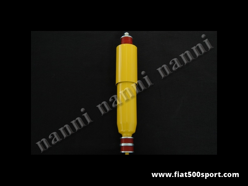 Art. 0472 - NANNI shorted  racing gas rear reinforced shock absorber, with special rubbers for FIat 500/126 - NANNI shorted racing gas rear reinforced shock absorber, with special rubbers for Fiat 500/126.