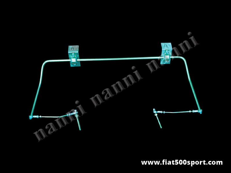 Art. 0475 - Barra stabilizzatrice Fiat 500 Fiat 126 NANNI  anteriore. - Barra stabilizzatrice Fiat 500 Fiat 126 NANNI anteriore.