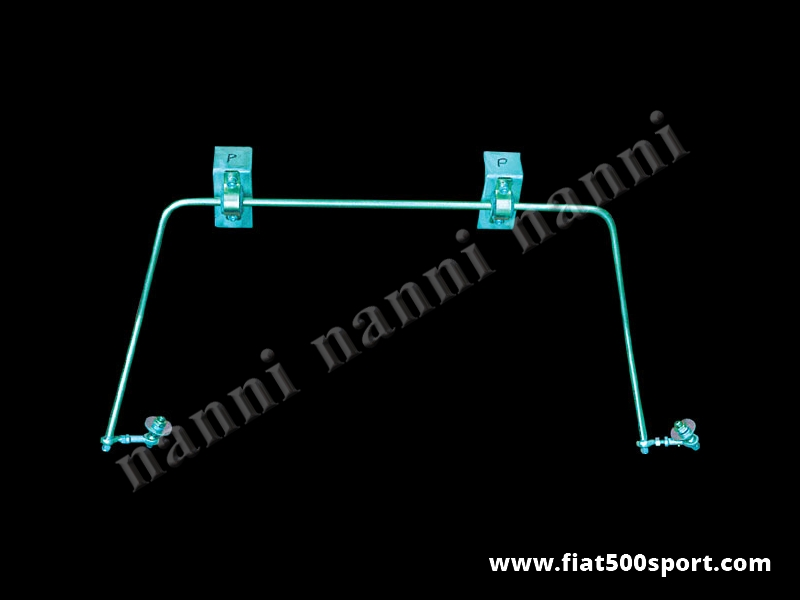 Art. 0476 - Barra stabilizzatrice Fiat 500 Fiat 126 NANNI  posteriore. - Barra stabilizzatrice Fiat 500 Fiat 126 NANNI posteriore.