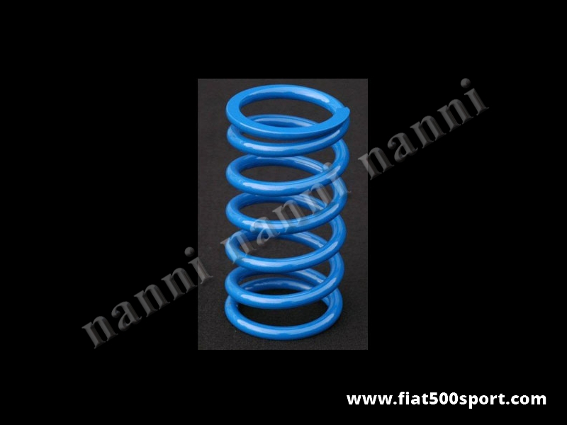 Art. 0481 - Shock absorber spring for our art. 0473 for stradal use. - Shock absorber spring for our art. 0473 for stradal use.