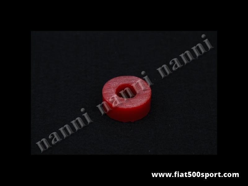 Art. 0487 - Gommino Fiat 500 Fiat 126 NANNI per l' ammortizzatore posteriore  in materiale resistentissimo. - Gommino Fiat 500 Fiat 126 NANNI per gli ammortizzatori posteriori in materiale resistentissimo. Occorrono 4 pezzi per 1 ammortizzatore.