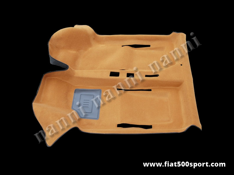 Art. 0508brown - Fiat 500 Fiat 126 beige original moquette. - Fiat 500 Fiat 126 beige original moquette.