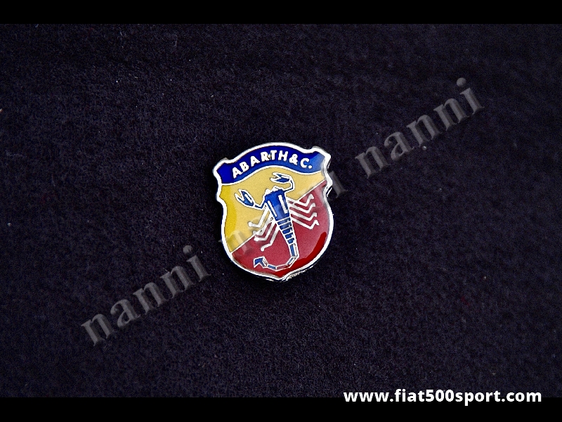 Art. 0519 - Distintivo Abarth grande h. 28,5 mm - Distintivo Abarth grande h. 28,5 mm