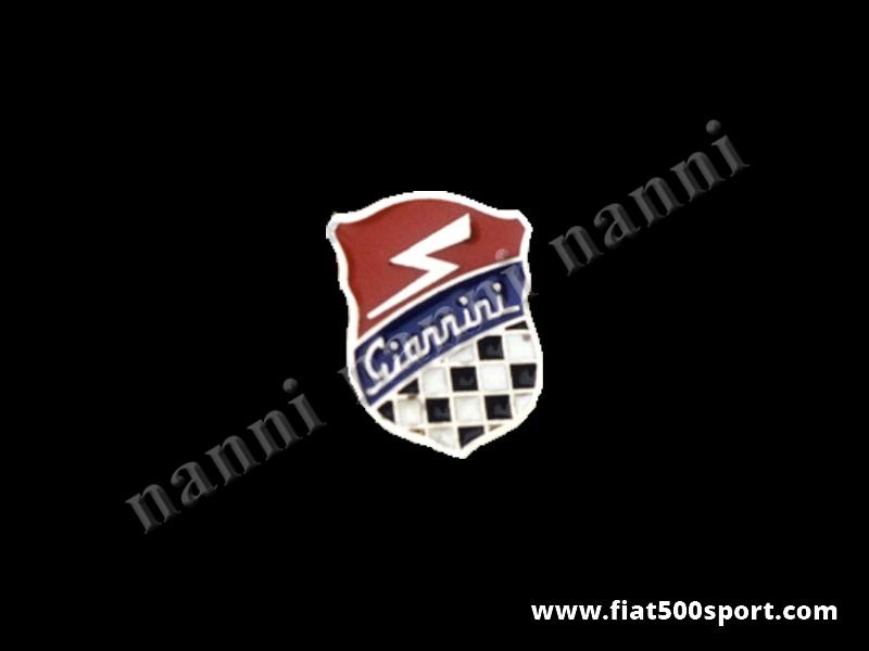 Art. 0538 - Distintivo Giannini . - Distintivo Giannini da applicare sulla giacca. Altezza 18 mm.