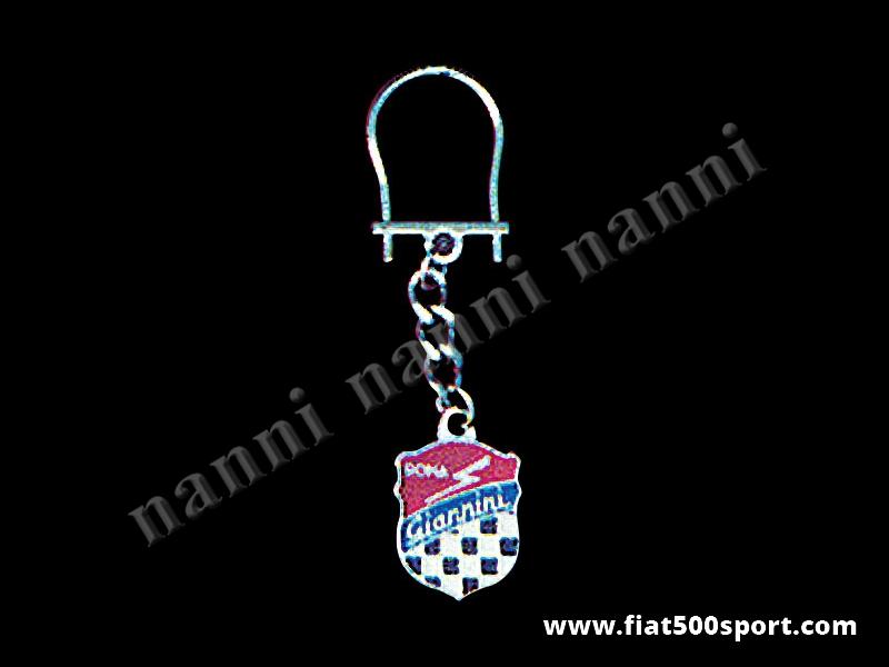 Art. 0605 - Giannini enamel key ring - Giannini enamel key ring