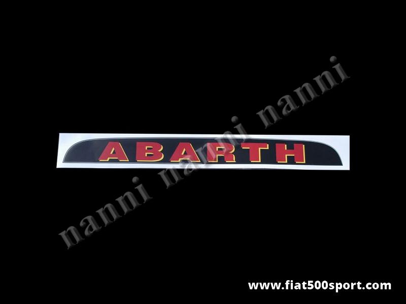Art. 0643 - Parasole Abarth - Parasole Abarth