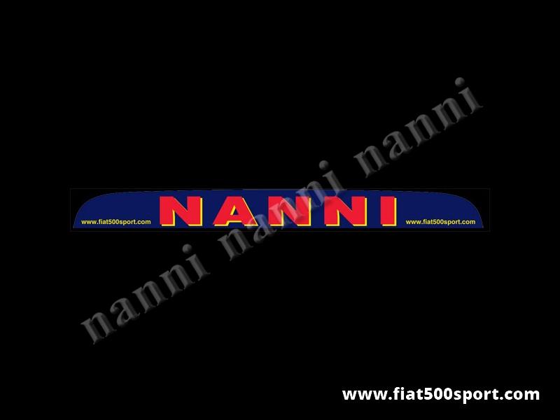 Art. 0644N - Nanni sunshade - Nanni sunshade