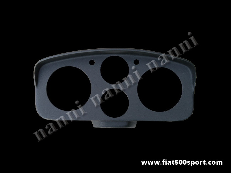 Art. 0704 - Fiat 500 D F R Abarth fiberglass instrument binnacle (hole Ø 80 mm). - Fiat 500 D F R Abarth fiberglass instrument binnacle (hole Ø 80 mm) Our product.