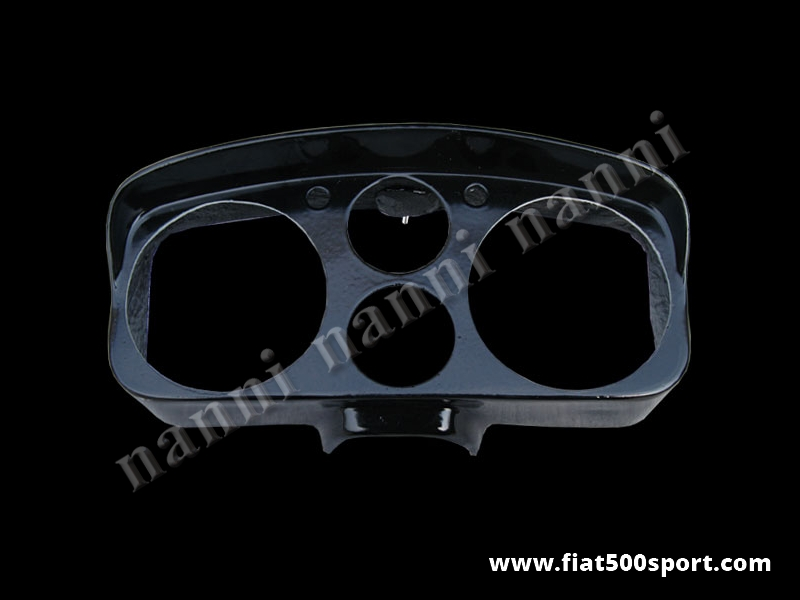 Art. 0705 - Fiat 500 D F R Abarth fiberglass instrument binnacle (hole Ø 100 mm) - Fiat 500 D F R Abarth fiberglass instrument binnacle (hole Ø 100 mm) Our product.