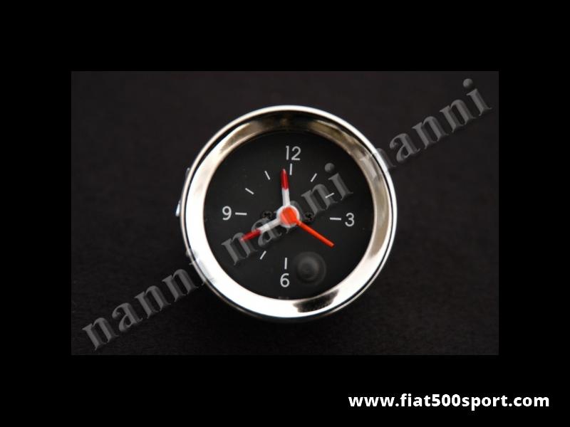 Art. 0775 - Black clock. - Black clock diam. 52 mm.