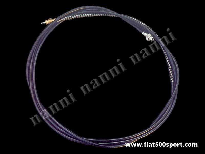 Art. 0807 - Veglia/Jaeger rev. counter cable complete, connection diam. 17 mm. - Veglia/Jaeger rev. counter cable complete, connection diam. 17 mm. length 320 cm.