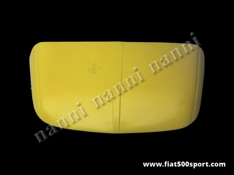 Art. 0836 - Cofano Fiat 500 anteriore in vetroresina (tipo originale) - Cofano anteriore Fiat 500 in vetroresina (tipo originale). È verniciabile in qualsiasi colore. Per il fissaggio occorre utilizzare le cerniere e la serratura originali.
