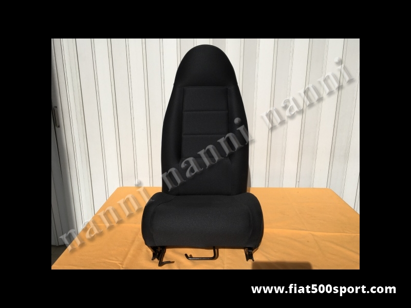 Art. 0873 - Fiat 500/126 reclining seat with lower guides. - Fiat 500/126 reclining seat with lower guides.