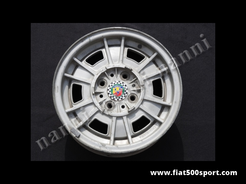 "Art. 0901 - Wheels Fiat 131 Abarth original Cromodora magnesium ( 4 wheels) size 13"" x 5"". - Wheels Fiat 131 Abarth original Cromodora magnesium  (4 wheels) size 13""x 5""."