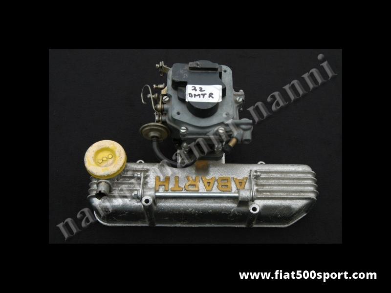Art. 0904 - A112 Abarth new original carburettor and alloy valve cover. - A112 Abarth new original carburettor and alloy valve cover.
