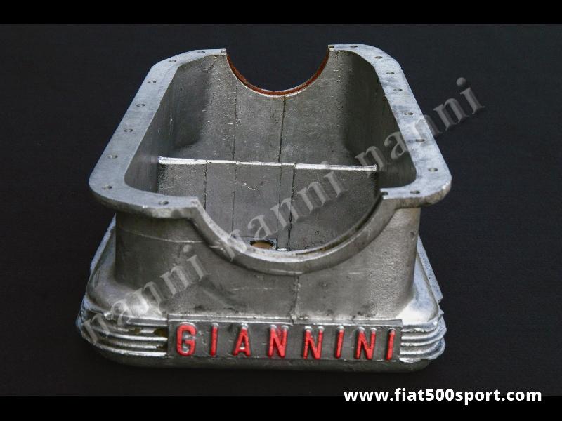 Art. 0920 - Oil sump Fiat 600 Giannini original. - Oli sump Fiat 600 Giannini original used in good conditions.