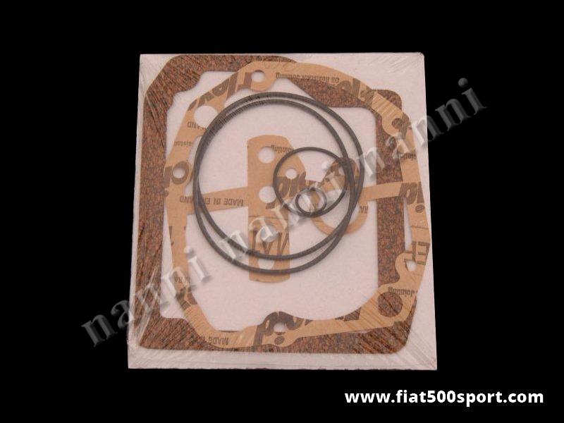 Art. 113A - Fiat 500  Fiat 126 gearbox gaskets. - Fiat 500 Fiat 126 gearbox gaskets.